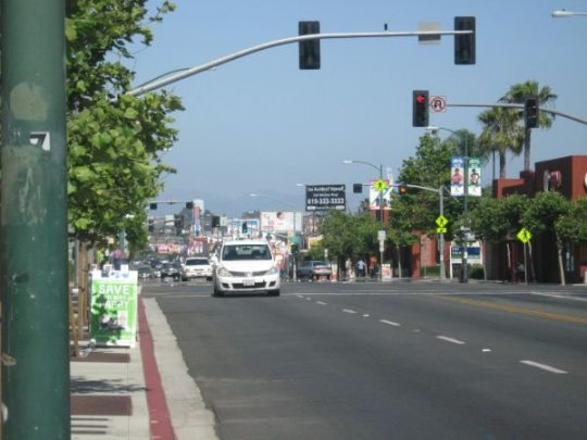 City Heights University Avenue at Fairmount