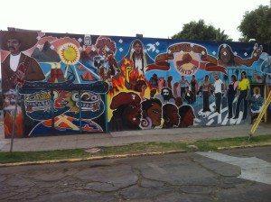 Sherman Unidos Mural