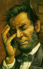 Lincoln face palm