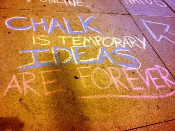 chalk for liberty