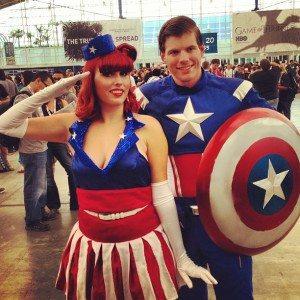 Capt. & Ms. America