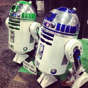SDCC R2 & Green Buddy