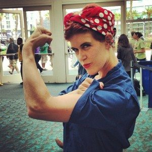 SDCC Rosie the Riveter