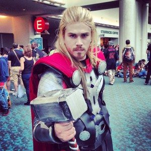 SDCC Thor God of Thunder