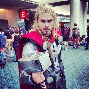 SDCC Thor God of Thunder