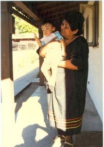 Me with paternal grandmother