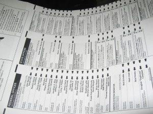 ballot sample