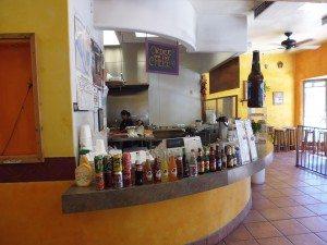 Kitchen counter & drinks