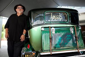 Rigo Reyes of Amigos Car Club.