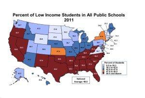 low income school kids