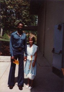 Shannon and Me in 1983