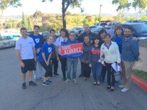 AFT interns precinct walking