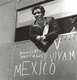 Braceros being sent back to Mexico.