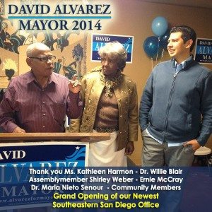 David Alvarez for Mayor