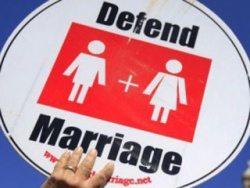 Defend Hetero marriage