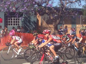 Youth race in the Barrio Logan Grand Prix.