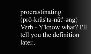 procrastinatingcc
