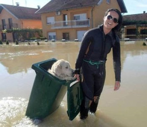 bosnia flood