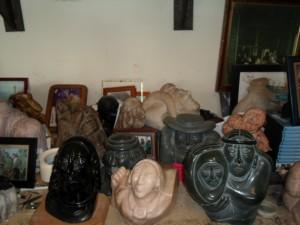 Paul Torres' sculptures