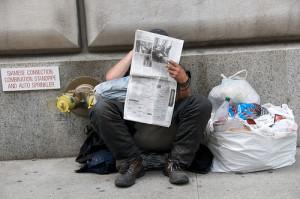 homeless newspaper