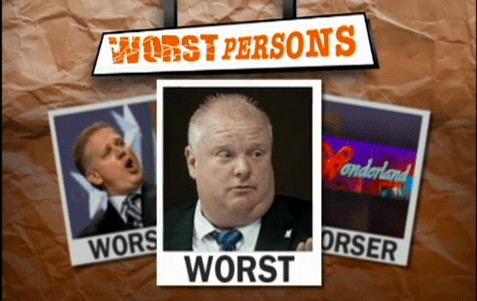 worst persons
