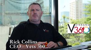 Vets 360 CEO Rick Collins.