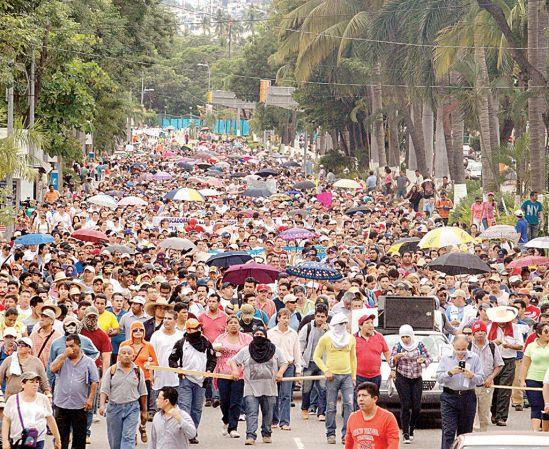 Mexico 43 Protest