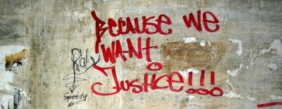 justice grafitti