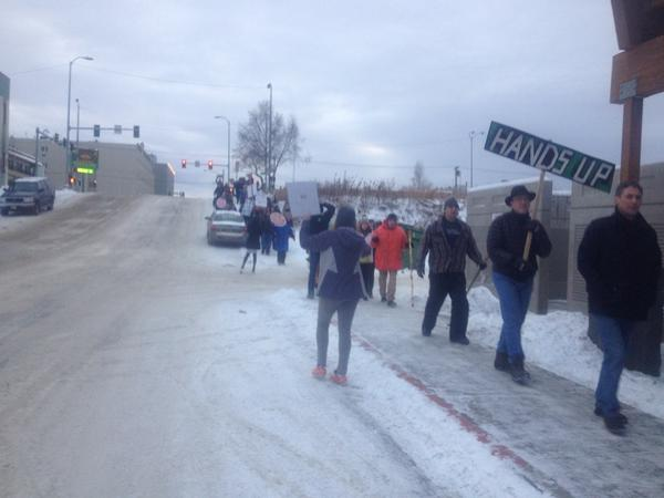 Anchorage protest