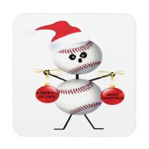 christmas baseball