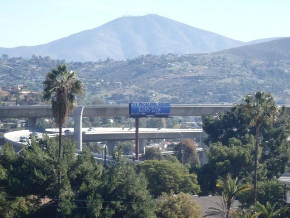 RJS LAW Freeway sign