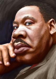 MLK Caricuture