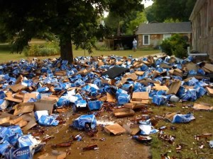 bud light mess