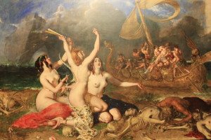 The Sirens and Ulysses, 1837 By painter William Etty