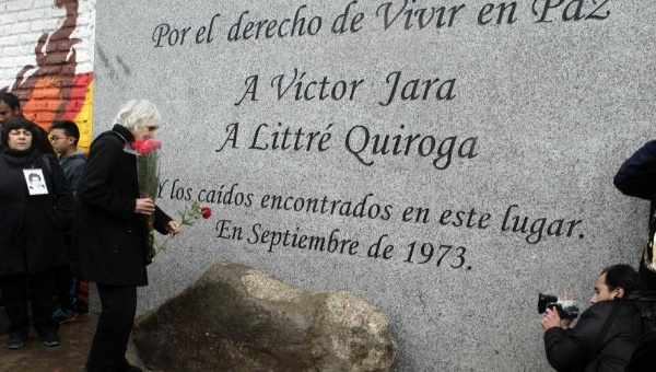 victor jara memorial
