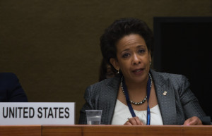 Loretta E. Lynch Addresses the CERD Commitee