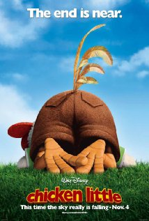 "Disney ""Chicken Little"" movie poster"