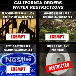 CA orders water restrictions