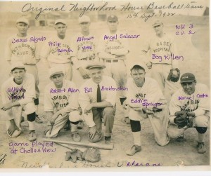 "Neighborhood House baseball team ""Veterans"", 1922"