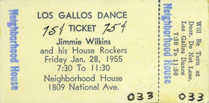 Los Gallos Neighborhood House dance ticket