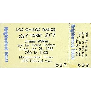 Los Gallos Dance Ticket - Neighborhood House