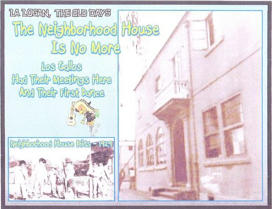 End of Neighborhood House postcard