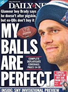 NY Daily News Brady