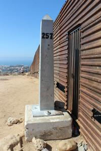 Boundary Monument #257