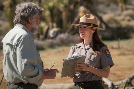 Earthwatch volunteers work with park resource managers to study climate change