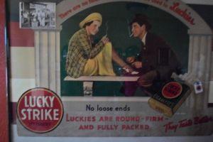 NH- Navarra store Lucky Strike Ad