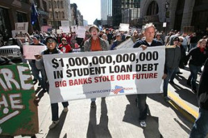 million bucks in student loan debt