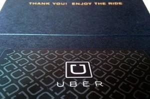 uber sign