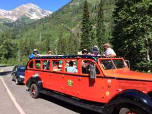 Daily Kos EPIC Glacier National Park Red Bus tour, 2015.