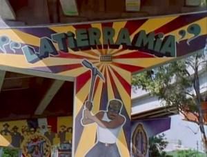 Jose Gomez - La Tierra Mia - Chicano Park mural